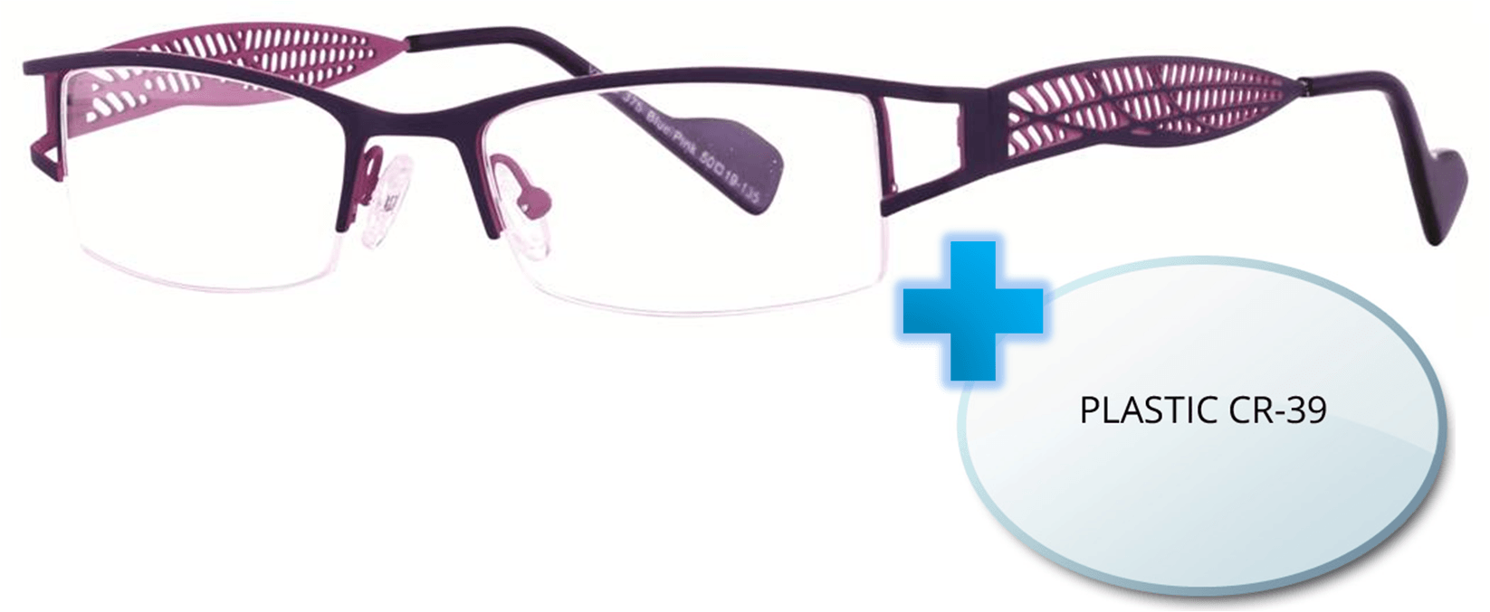 Vivid 375 Eyeglasses + Prescription Lenses Replacement ...
