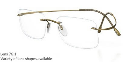 Rimless Eyeglass Lens Replacement : Silhouette Rimless 7799 Titan Minimal Art The Must ...