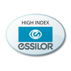 Progressive Clear High Index 1.60 Lenses with Crizal Sapphire AR Coating by Essilor Definity