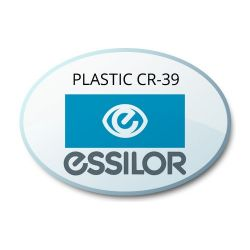 Single Vision Clear Plastic CR39 Lenses (Essilor w/ Crizal Avance Coating)