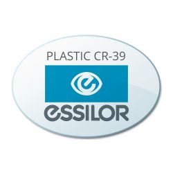 Progressive Clear Plastic CR39 Lenses by Essilor Ovation