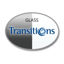 Single Vision Transitions Glass Lenses