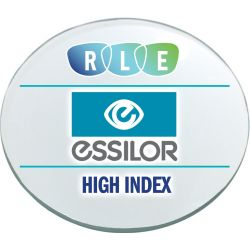 Single Vision Clear High Index 1.60 Lenses (Essilor Thin & Lite) w/ Crizal Avance AR Coating