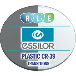 Essilor 360 - Digital Flat-Top 28 Plastic CR39 Transitions Bifocal Lenses