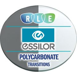 Essilor 360 - Digital Single Vision Polycarbonate Transitions Lenses