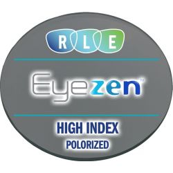 Eyezen + Single Vision Polarized High Index 1.67 Lenses