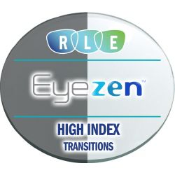 Eyezen Single Vision Transitions High Index 1.74 Lenses