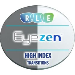 Eyezen + Single Vision Transitions Xtractive High Index 1.67 Lenses