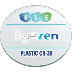 Eyezen + Single Vision Clear Plastic CR39 Lenses