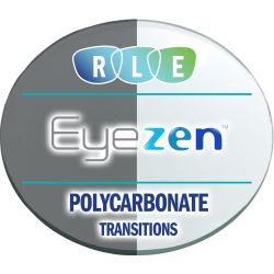 Eyezen + Single Vision Transitions Polycarbonate Lenses