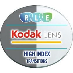 Kodak Unique - Digital Progressive Transitions Vantage High Index 1.67 Lenses