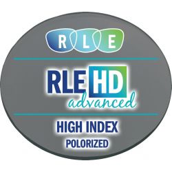 RLE In-House HD Advanced Digital Progressive Polarized High Index 1.67 Lenses