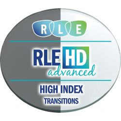 RLE In-House HD Advanced Digital Progressive Transitions High Index 1.67 Lenses