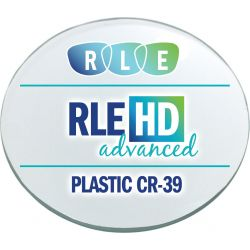 RLE In-House HD Advanced Digital Progressive Clear Plastic CR39 Lenses