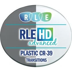 RLE In-House HD Advanced Digital Progressive Transitions XTRActive Plastic CR39 Lenses