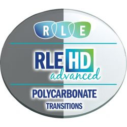 RLE In-House HD Advanced Digital Progressive Transitions XTRActive Polycarbonate Lenses