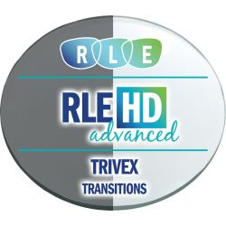 RLE In-House HD Advanced Digital Progressive Transitions Trivex Lenses