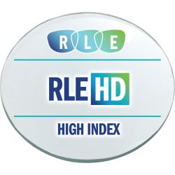 RLE In-House HD Digital Progressive Clear High Index 1.60 Lenses