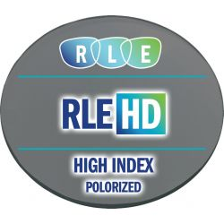 RLE HD Digital Progressive Polarized High Index 1.67 Lenses