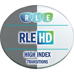 RLE In-House HD Digital Progressive Transitions High Index 1.67 Lenses