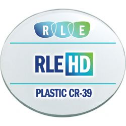 RLE In-House HD Digital Progressive Clear Plastic CR39 Lenses