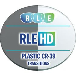 RLE In-House HD Digital Progressive Transitions Vantage Plastic CR39 Lenses