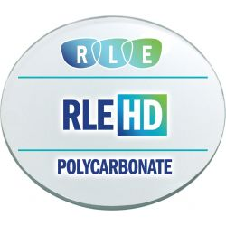 RLE In-House HD Digital Progressive Clear Polycarbonate Lenses