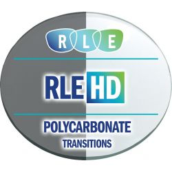 RLE In-House HD Digital Progressive Transitions XTRActive Polycarbonate Lenses