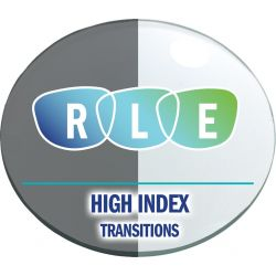 Progressive Transitions High Index 1.54 Lenses