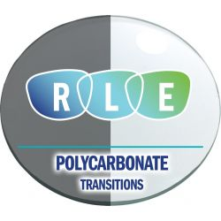 Single Vision Transitions XTRActive Polycarbonate Lenses
