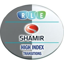 Shamir Spectrum - Digital Progressive Transitions Vantage High Index 1.67 Lenses
