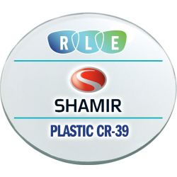 Progressive Clear Plastic CR39 Lenses with Crizal Sapphire AR Coating by Shamir Office