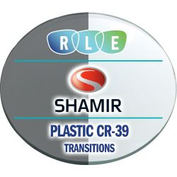 Progressive Transitions Plastic CR39 Lenses by Shamir Autograph II