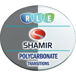 Progressive Transitions Polycarbonate Lenses by Shamir Autograph II