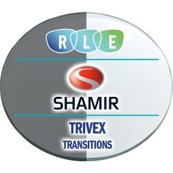 Progressive Transitions Trivex Lenses by Shamir Autograph II