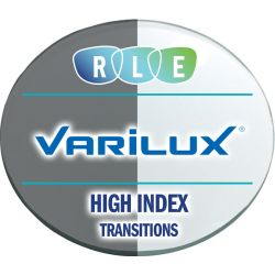 Progressive Transitions High Index 1.67 Lenses by Varilux Physio