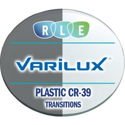 Progressive Transitions Plastic CR39 Lenses by Varilux Comfort