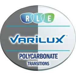 Progressive Transitions XTRActive Polycarbonate Lenses by Varilux Physio