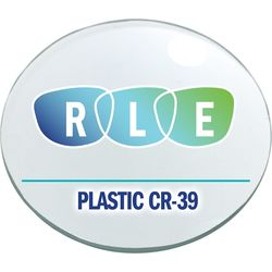 Single Vision Clear Plastic CR39 Lenses with Harmful Blue Light Protection