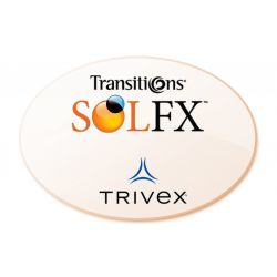 Non-Prescription Trivex Autumn Gold Transitions SOLFX Lenses
