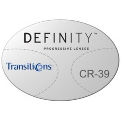 Essilor Definity 3 Digital Progressive Transitions Plastic CR39 Lenses