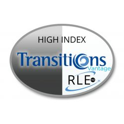 RLE In-House HD Digital Progressive Transitions Vantage High Index 1.67 Lenses