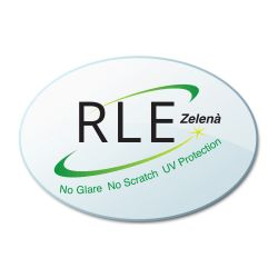 RLE In-House Digital Anti-Glare Coating - Zelena