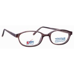 Titmus FC 704 with Side Shields Eyeglasses Brown (Brn)