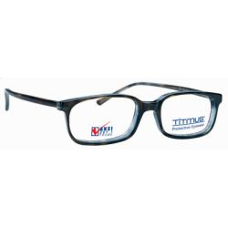 Titmus PC 266A with Side Shields -Premier Collection Eyeglasses Tortoise Blue (TBL)