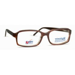 Titmus PC 269 with Side Shields -Premier Collection Eyeglasses Brown (BRN)