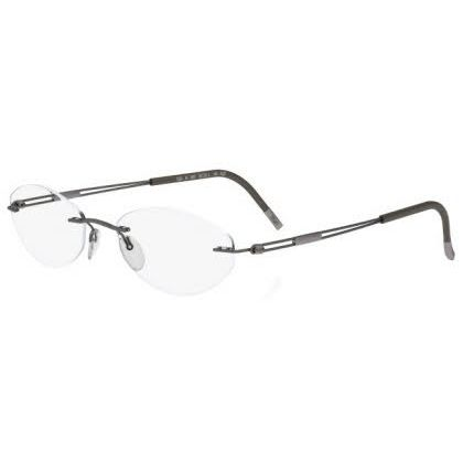 Silhouette Rimless 5227 Titan Next Generation Eyeglasses Green Matte (6058)