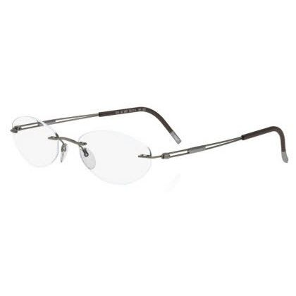 Silhouette Rimless 5227 Titan Next Generation Eyeglasses Brown  (6052)