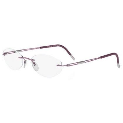 Silhouette Rimless 5227 Titan Next Generation Eyeglasses Rose (6053)