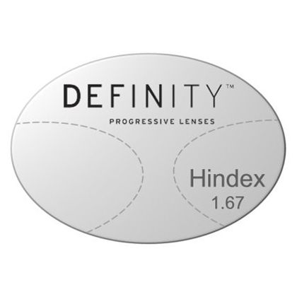 Progressive Clear High Index 1.67 Lenses with Crizal AlizГ© by Essilor Definity